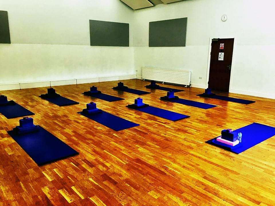 Nigel Copping Building Stanstead Abbotts Yoga Class