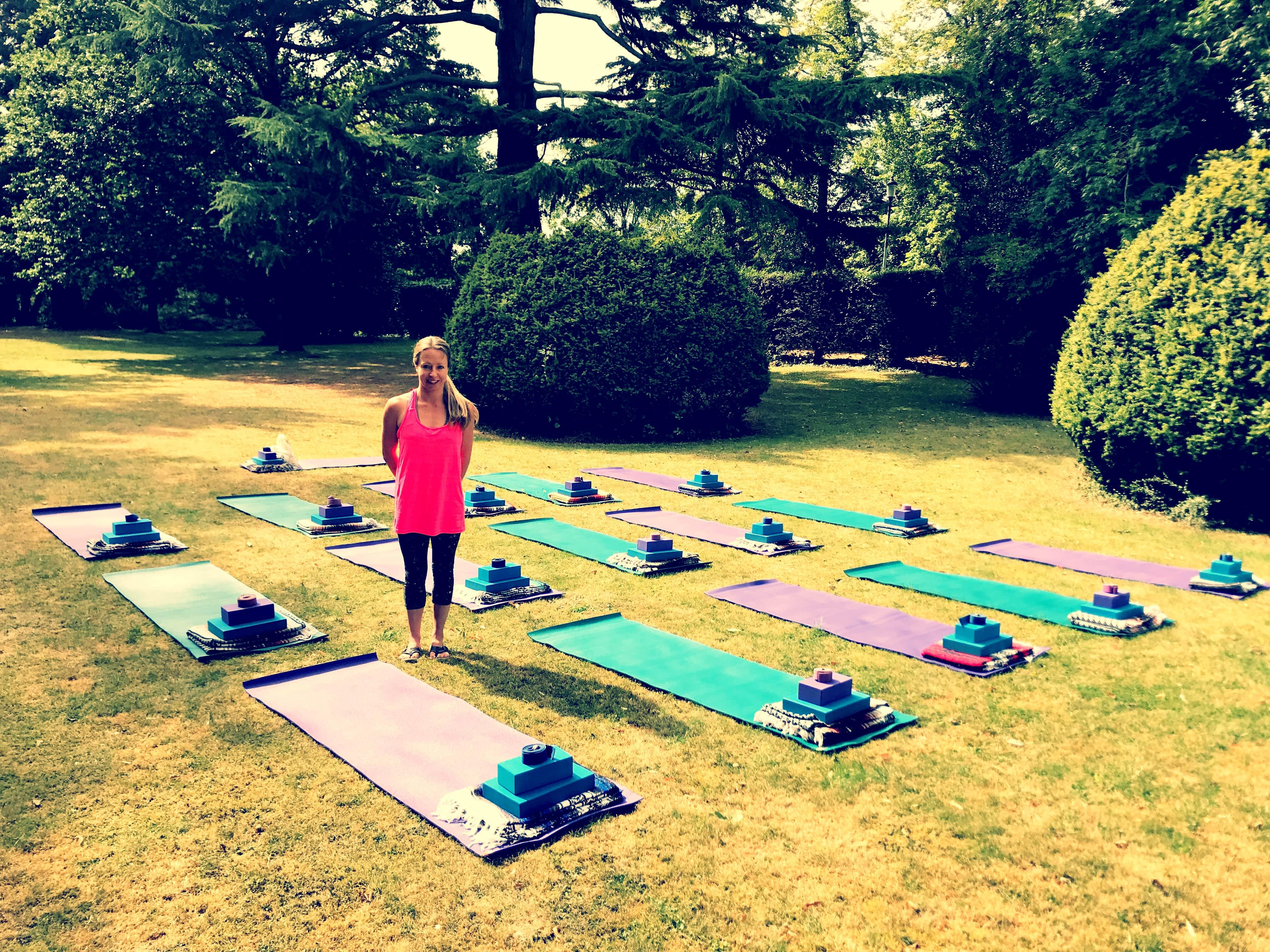 Outdoor Summer Yoga Goffs Oak