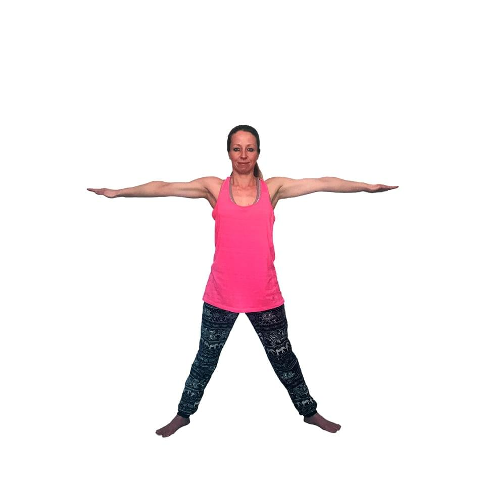 Five Pointed Star Pose
