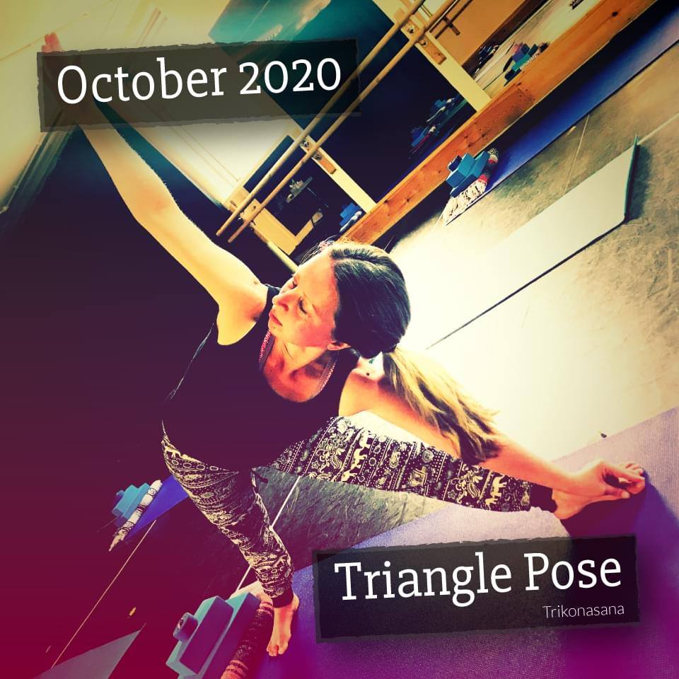 Trianlge Pose